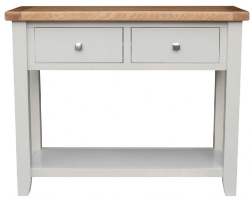 Malvern Grey Console Table
